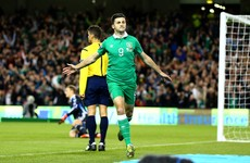 Shane Long's magical goal against Germany voted Ireland's sporting moment of 2015