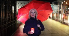 Sex workers marched on Leinster House tonight