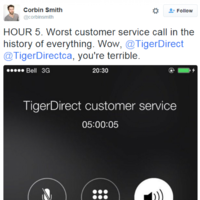This guy live-tweeted his 8 hour long customer service call from hell