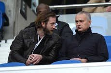Mourinho says he'll stay in London... and he's even at a game today