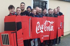 These lads from Tallaght just nailed their 12 Pubs costume