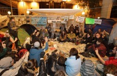 Occupy Dame Street protesters explain aims of 'people's movement'