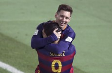 Top of the world - Messi and Suarez on target as Barca claim yet another title