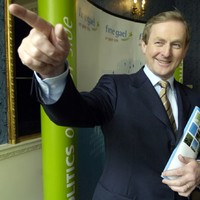 Enda Kenny is looking stateside and fancies copying their low tax rates
