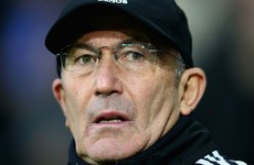 Tony Pulis blames poor refereeing for James McClean's red card