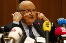 Blatter says 'sorry' to Fifa after he and Platini hit with eight-year bans