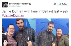 Jamie Dornan and Gillian Anderson are back filming in Belfast... It's The Dredge