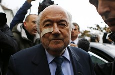 Invincible no more - Blatter's fall from grace