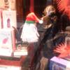 This Dublin fetish shop's Christmas window has Santy on a sex machine