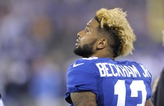 Odell Beckham Jr's reckless head-first lunge sparks furious reaction