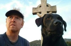 Irishman and his dog trek across Balkans to raise funds for sick children