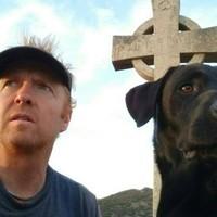 Irishman and his dog trek across Balkans to raise funds for sick children