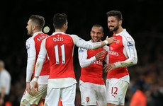 From sickbed to starring role - Ozil can do no wrong right now