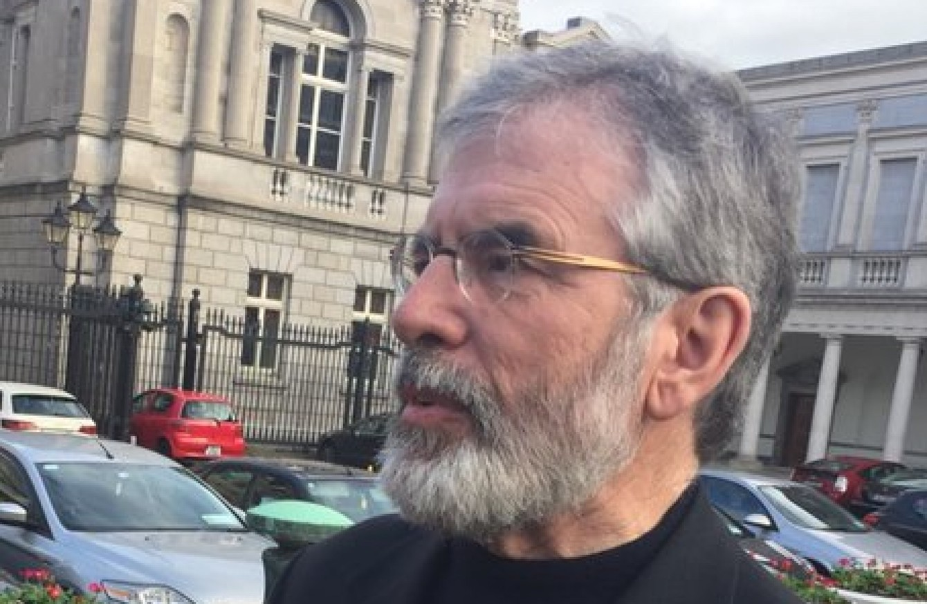 82796f8c0b21d The Sinn Féin leader has been answering questions for a fourth day in a row  about Thomas  Slab  Murphy s conviction.