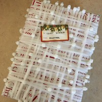 This pesky brother has taken gift wrapping to the next level