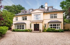 This palatial home in Foxrock is on the market
