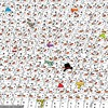 Everyone is going mad trying to find the panda in this festive photo