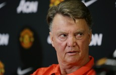 LVG walks out of press conference after five minutes