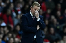 'It's too much' - Koeman unhappy as Saints face two games in under 48 hours