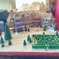 LOOK at this incredible gingerbread house modelled on the hotel from The Shining