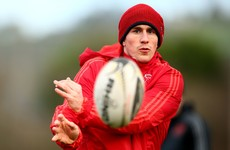 No place for Keatley, as O'Donnell poised to make his Munster comeback