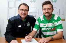 Stephen McPhail has signed on for another year at Shamrock Rovers