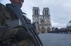 Security bolstered on a subdued Christmas Eve in Paris