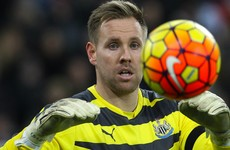 Ireland's in-form goalkeeper reveals he almost quit Newcastle