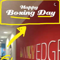 Irish Snapchat users are up in arms over 'Boxing Day' filters