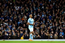 Man City make light work of Sunderland but Kompany hobbles off 9 minutes into comeback
