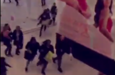 Scenes of panic in UK shopping centre after reports of man with machete
