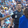 A-League teams get in the festive spirit with Christmas cracker coin toss