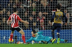 Man of the match Long scores twice as Southampton tear Arsenal apart