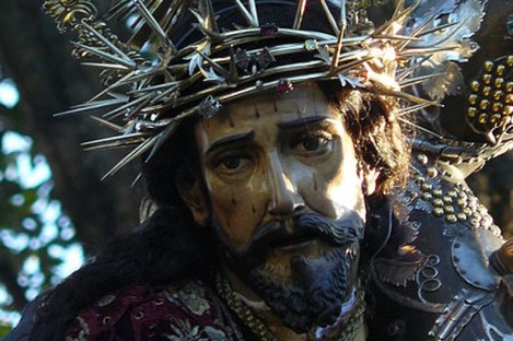 The Jesus de la Merced statue.