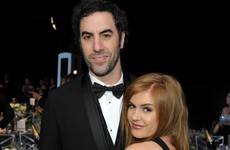 Sacha Baron Cohen and Isla Fisher have just donated $1 million to charity in Syria