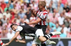 Cattermole: I only ever made one bad tackle