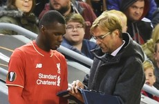 Jurgen Klopp has some pretty basic advice for Christian Benteke