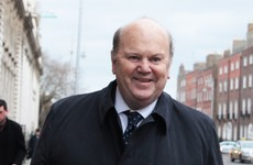 Michael Noonan spent Christmas in hospital due to fluid on his chest