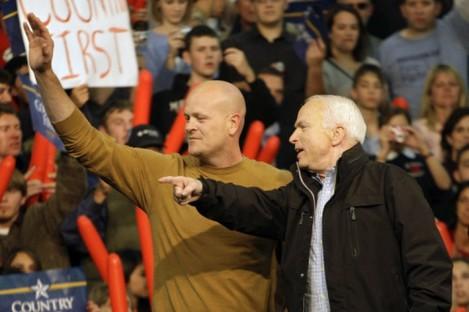 Joe the Plumber with John McCain back in 2008.