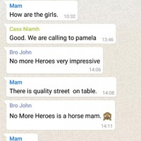 An Irish Mam got very lost in a Whatsapp conversation about horse racing