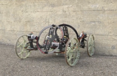 Disney designed a robot car that can climb walls by itself