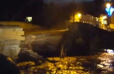 Yorkshire town split in two as bridge collapses in storm