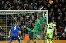 Man City left frustrated by Leicester as Arsenal end 2015 top of the table