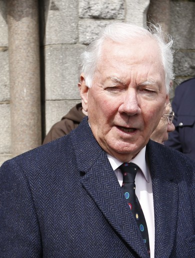 "Gay Byrne ""recovering well"" following heart attack"