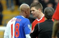 Ex-Liverpool striker Diouf lays into 'egotist' Gerrard and 'turkey' Carragher