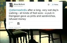 Irish Twitter users are sharing stories of random acts of kindness, and it's lovely