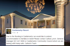 This luxury Cork hotel made a wonderful gesture to locals affected by flooding