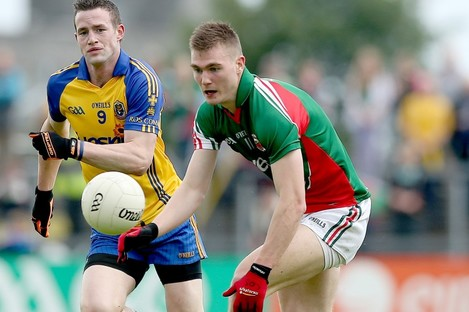 The youngest O'Shea in action against Roscommon last summer.