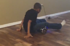 This hoverboard fail video is 16 seconds of comedy gold