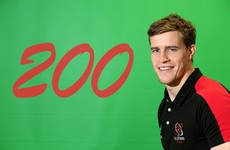 Andrew Trimble to become first Ulster player to reach 200 caps for the province